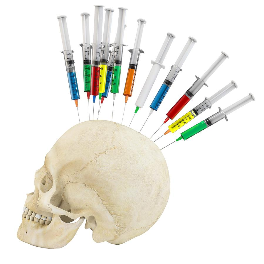 3d-human-skull-with-syringes-dan-cosma